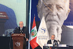 """Javier Velarde Aspillaga: """"Belaunde aprendió las lecciones del Perú milenario y las convirtió en trascendentes propuestas para el desarrollo del país"""". — en Universidad San Ignacio de Loyola."""