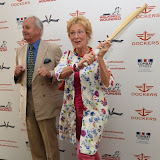 OIC - ENTSIMAGES.COM - Neil Hamilton and Christine Hamilton at the Dockers Flannels for Hero's Charity cricket match and Garden party Chelsea London 19th June 2015  Photo Mobis Photos/OIC 0203 174 1069