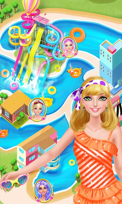 Water Park Salon - Summer Girl- screenshot