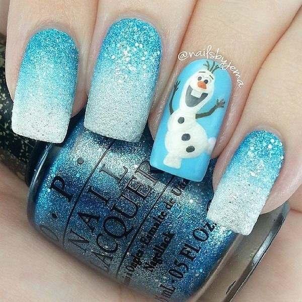 christmas nail art ideas 2017 -18 - style you 7