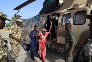 Rescued Chibok girl, Amina Ali Nkeki