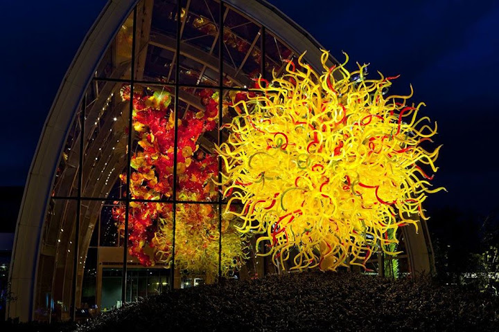 Chihuly Garden and Glass, o fantástico mundo do vidro