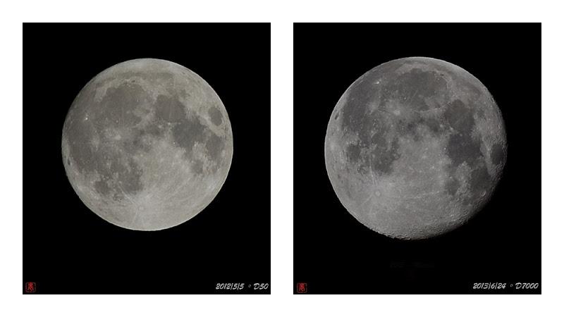 2012年 2013年 月亮