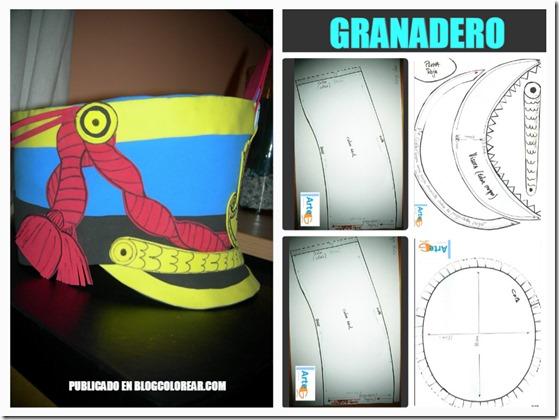 GORROS DE GRANADERRO FOAM