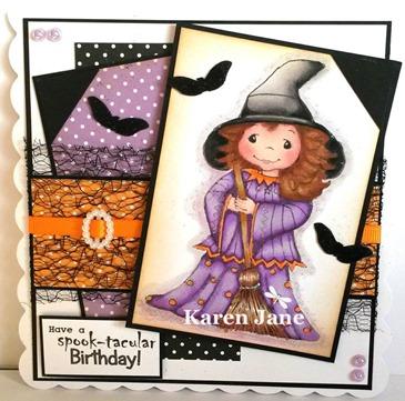 Karen - halloween or halloween colours