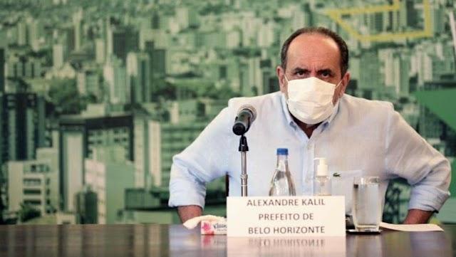 Prefeito de Belo Horizonte Kalil ignora o STF e proíbe cultos e missas presenciais em BH