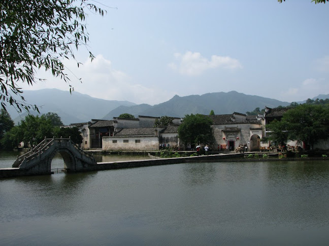 Bridge to Hongcun Village, Huangshan, Anhui (2010)