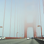 San Francisco - Golden Gate im Nebel