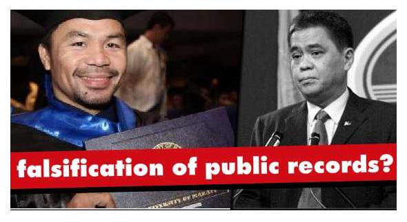 """""""Kung Hindi Maipapaliwanag ni Pacquiao ang Kaniyang Diploma"""" Ex-Ambassador, Nagsalita sa Kursong Tinapos ni Pacquiao"""