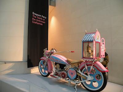 Мотоцикл Грейсона Пэри в Британском Музее