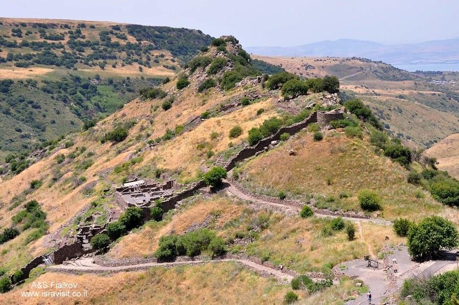 Гамла – древний еврейский город – крепость. Экскурсия по Голанским высотам. Гид в Израиле Светлана Фиалкова.