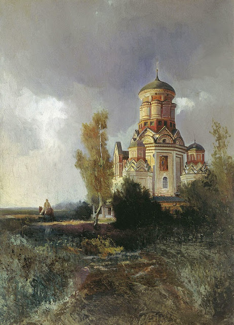 Nikolay Makovsky - Church of the St. John the Baptist in the village of Kolomenskoe-Dyakovo