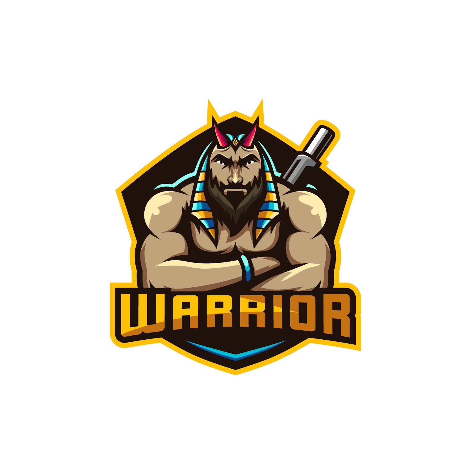 Anubis Warrior Illustration Premium Free Download Vector CDR, AI, EPS and PNG Formats