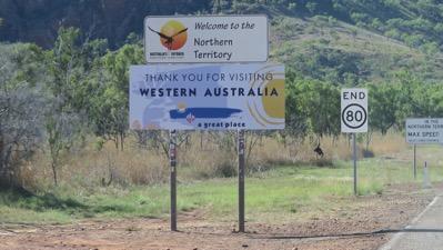 Western Australia Border