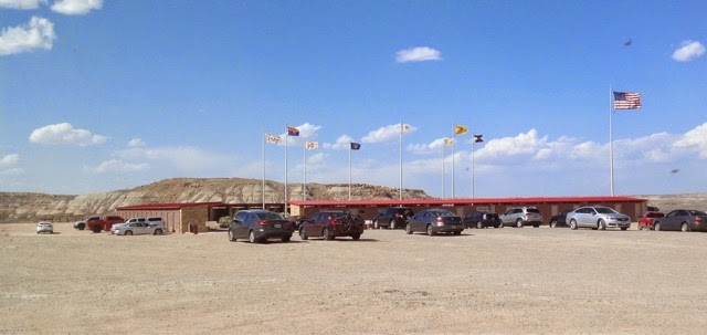 Plaza Building at Four Corners monument