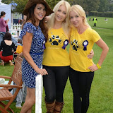 WWW.ENTSIMAGES.COM -    Lizzie Cundy and K9- Angels  (Victoria Eisermann and Pola Pospieszalska)  at       Pup Aid at Primrose Hill, London September 6th 2014Puppy Parade and fun dog show to raise awareness of the UK's cruel puppy farming trade. Pup Aid, the anti-puppy farming campaign started by TV Vet Marc Abraham, are calling on all animal lovers to contact their MP to support the debate on the sale of puppies and kittens in pet shops. Puppies & Celebrities Return To Fun Dog Show Fighting Cruel Puppy Farming Industry.                                              Photo Mobis Photos/OIC 0203 174 1069