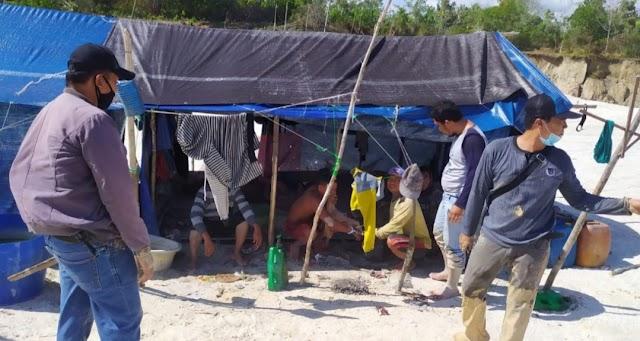Tanpa Izin, Empat Pelaku PETI Diamankan Polisi