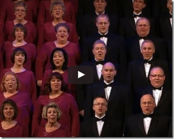"""Jingle  Bells"" and the Mormon Tabernacle Choir"