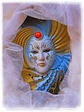 """Lace Framed Mask"" by Bill Black - 2nd  Place A Special"