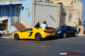 McLaren MP4-12C and Porsche 911