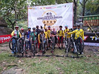Gowes Se-Karawang Ramaikan HUT RI Ke 72