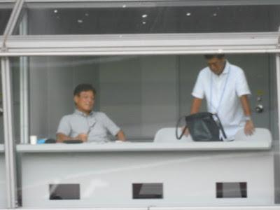 下條旧岡部長と樋口さん