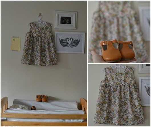 {Sewn} A Liberty BellBird Dress