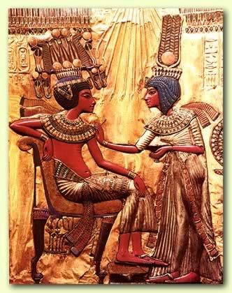 Egyptian Man And Woman, Gods And Goddesses 1