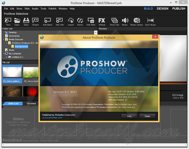 proshow producer 8 registration key only