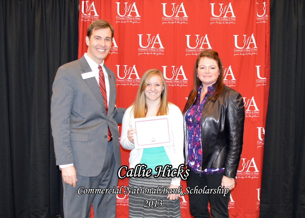Scholarship Ceremony Spring 2013 - Commercial%2BNational%2BBank%2BScholarship%2B-%2BCallie%2BHicks%2Bcopy.jpg