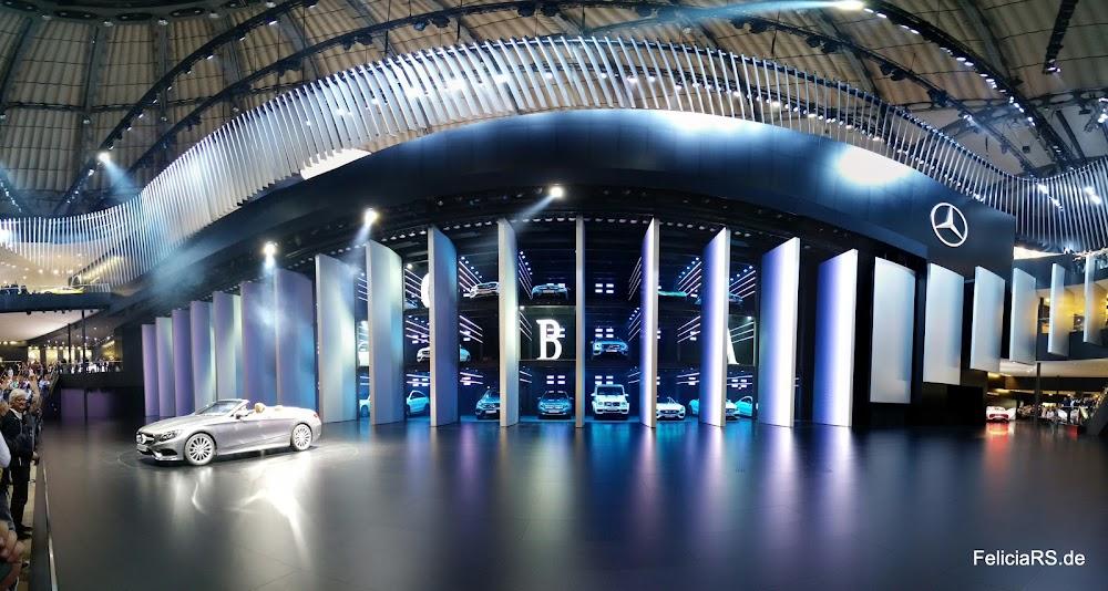 Mercedes Benz Bühne