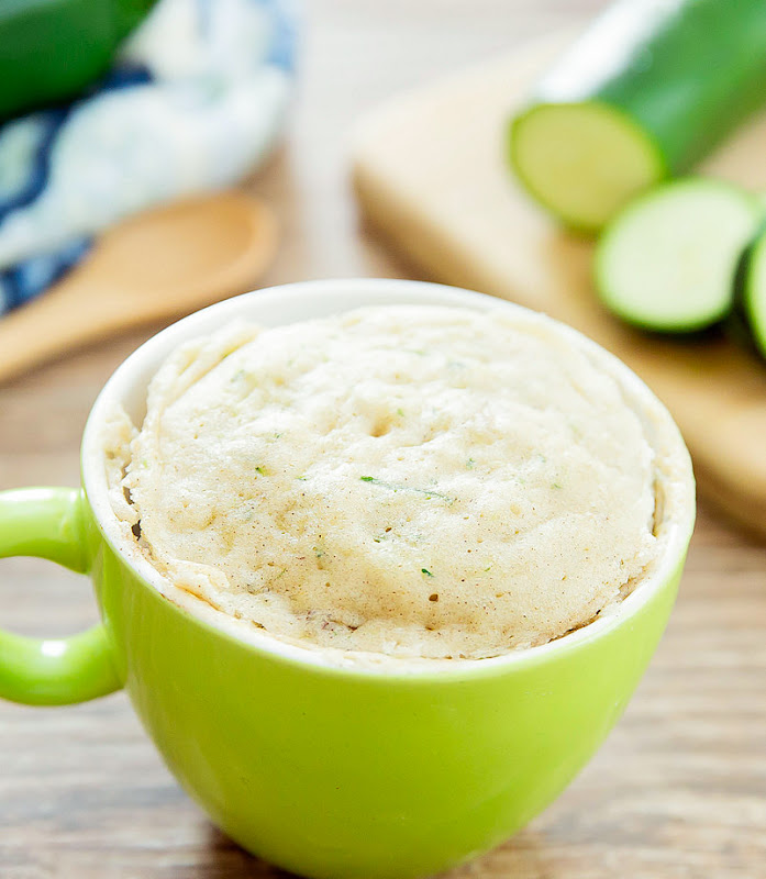 photo of a Zucchini Mug Cake