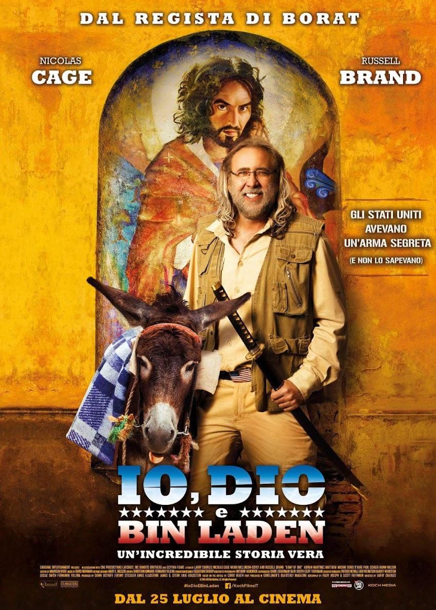 Ecco il poster ufficiale di Io Dio E BinLaden, dal 25 luglio al cinema!