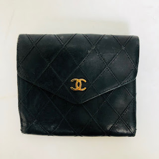 Chanel Quilted Leather Wallet