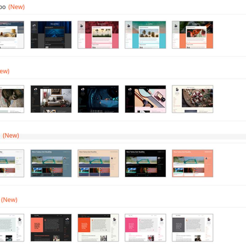 Blogger aggiunge 4 nuovi e moderni temi grafici gratuiti: Contempo, Soho, Emporio e Notable.