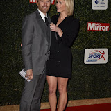 OIC - ENTSIMAGES.COM - James Midgley and Jenni Falconer at the  Daily Mirror Pride of Sport Awards  London 25th November 2015 Photo Mobis Photos/OIC 0203 174 1069