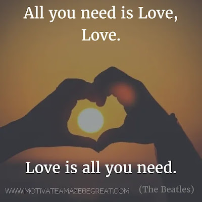 """Featured in our Most Inspirational Song Lines and Lyrics Ever checklist: The Beatles """"All You Need is Love"""" song lines."""