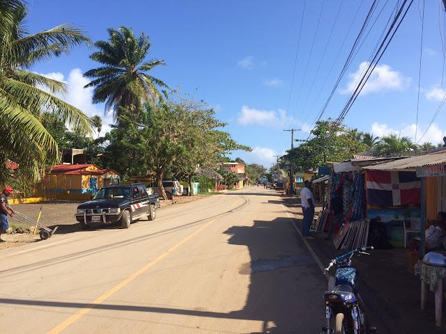 Visiting the small fishing village of Las Galeras, Dominican Republic