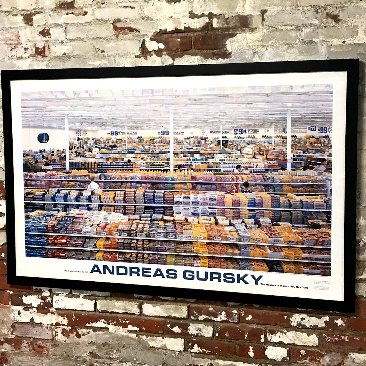 Andreas Gursky Exhibition Poster