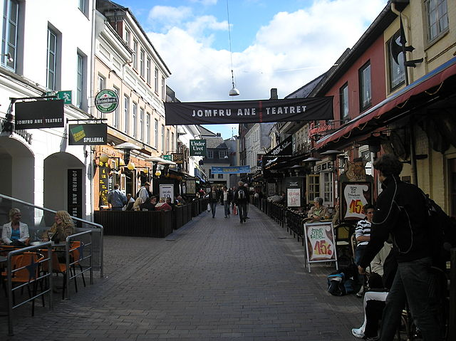 Calle Jomfru Ane Gade ©Wikipedia