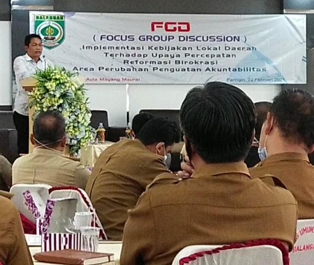 Abdul Hadi: Pemkab Balangan akan Lakukan Perampingan SKPD