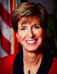 Christine Todd Whitman, president of the Whitman Strategy Group, was the E.P.A. administrator from 2001 to 2003 and the governor of New Jersey from 1994 to 2001. Photo: EPA