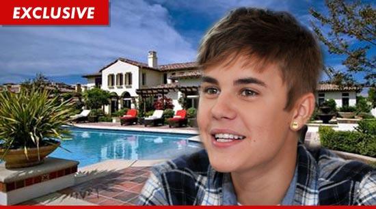 Justin Bieber New Calabasas Home