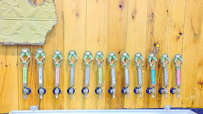 The unique taps of Short's Brewing