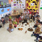Brown Colour Day (Nursery) at Witty World 14.10.2016