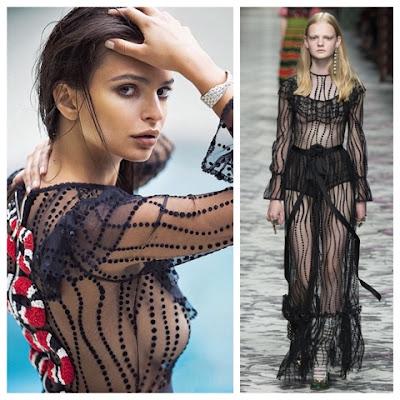 Emily Ratajkowski in Gucci Spring 2016 Ready to Wear for ES Magazine