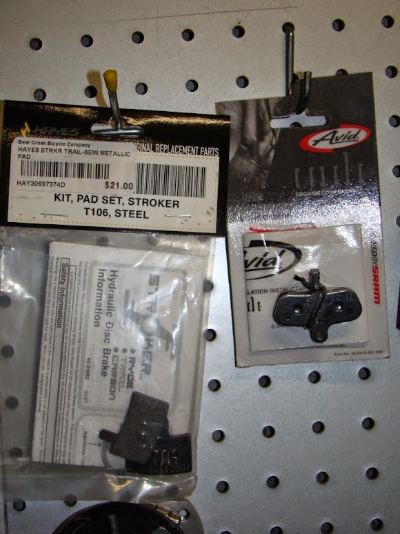 For Sale - Hadley rear hub, Hayes Stroker & avid code brake pads