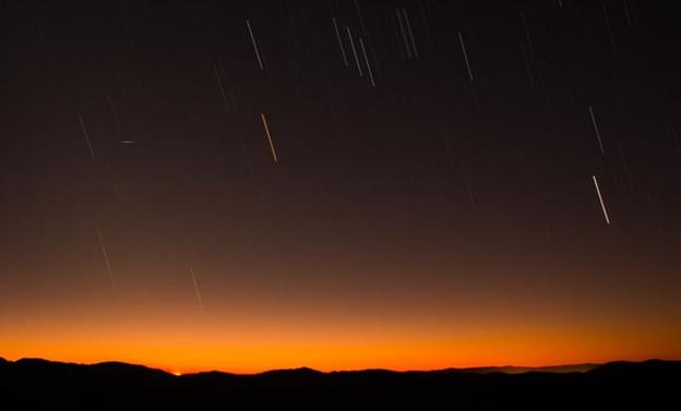 Gambar: Hujan Meteor Perseid
