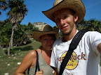 Bei den Pyramiden von Tulum