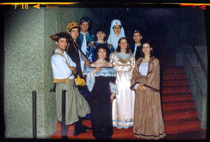 At the NAC, Ottawa, 1988